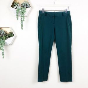 Theory testra bistretch 2 cotton twill pants green